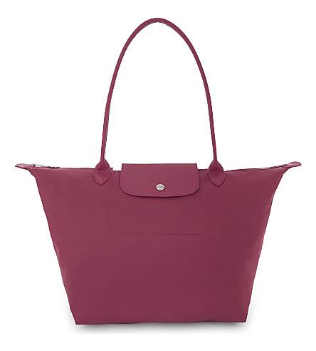 LONGCHAMP Le Pliage Néo shoulder bag (Raspberry