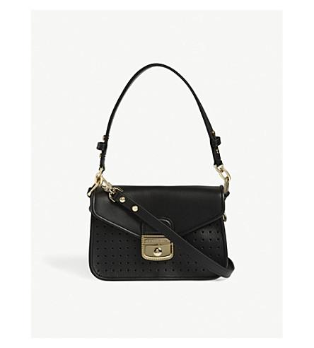LONGCHAMP Mademoiselle leather shoulder bag (Black
