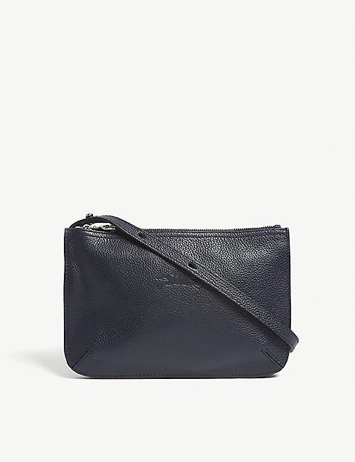 LONGCHAMP Le Foulonné leather cross-body bag. Quick view Wish list 372e4cf667e81