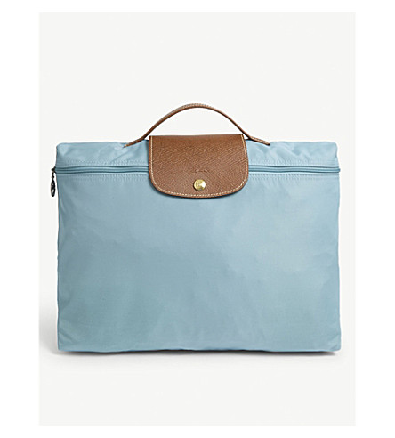 LONGCHAMP Le Pliage briefcase (Artic