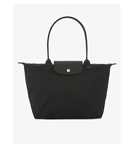 LONGCHAMP Le Pliage nylon shoulder bag (Black