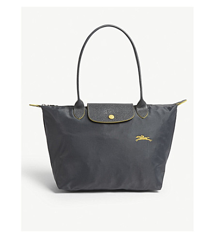 cf550a693077 ... LONGCHAMP Le Pliage Club shoulder bag (Gunmetal. PreviousNext