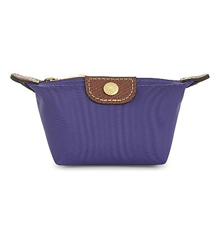LONGCHAMP Le Pliage coin purse (Amethyst