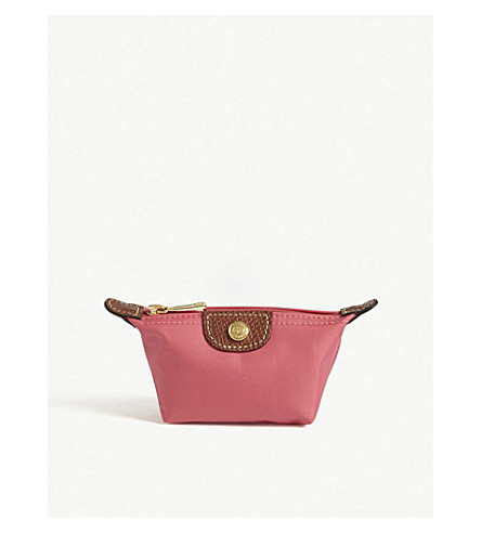 LONGCHAMP Le Pliage coin purse (Flowers