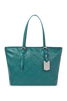 LONGCHAMP LM Cuir shoulder bag in menthe
