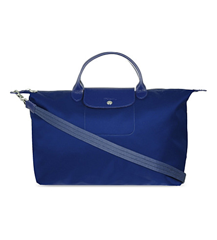 LONGCHAMP Le Pliage Neo large handbag (Navy