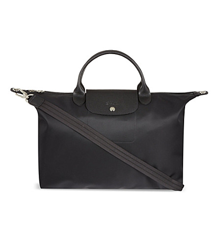 LONGCHAMP Le Pliage Neo large handbag (Noir
