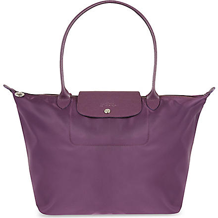LONGCHAMP Le Pliage Neo large shopper (Myrtille