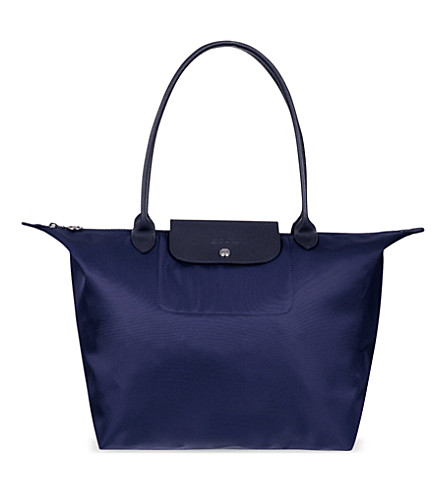 LONGCHAMP Le Pliage Neo large shopper (Navy