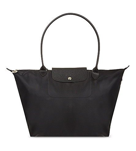 LONGCHAMP Le Pliage Neo large shopper (Noir