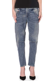 DIESEL Fayza boyfriend dropped-crotch jeans