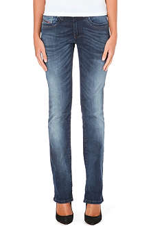 DIESEL Ronhoi straight-leg mid-rise jeans