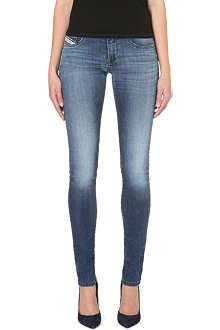 DIESEL Livier skinny low-rise jeans