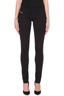DIESEL Livier slim-fit mid-rise jeans