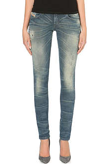 DIESEL Getlegg slim-fit distressed jeans