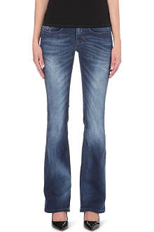 DIESEL Louvboot bootcut low-rise jeans