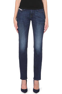 DIESEL Straitzee straight-fit mid-rise jeans