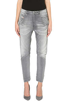 DIESEL Fayza cropped tapered jeans