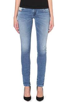 DIESEL Grupee slim-fit mid-rise jeans