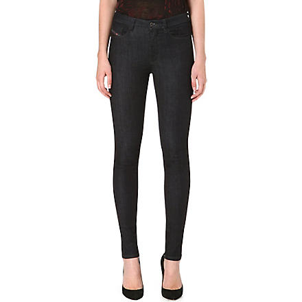 DIESEL Skinzee stretch-denim skinny jeans (Blue