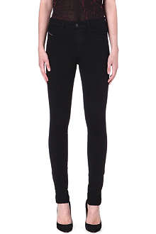 DIESEL Skinzee super-skinny high-rise jeans