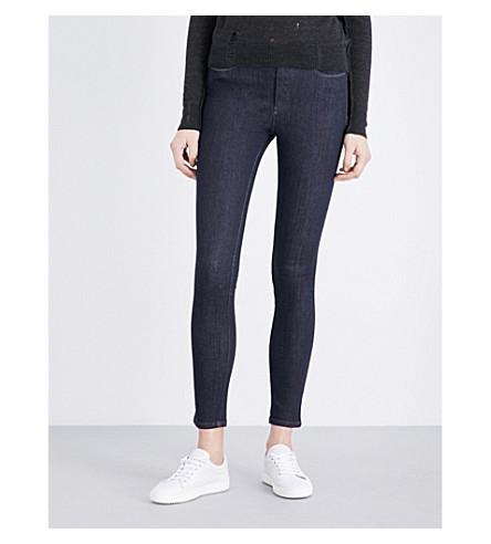 DIESEL Skinzee skinny high-rise jeans (Denim