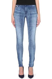 DIESEL Skinzee skinny high-rise jeans