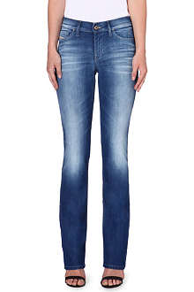 DIESEL Bootzee bootcut mid-rise jeans