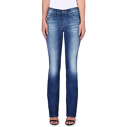 DIESEL Bootzee bootcut mid-rise jeans (Blue