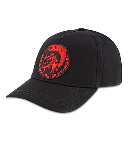 DIESEL Punk cap (Black