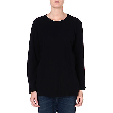DIESEL Cotton sweatshirt (Black