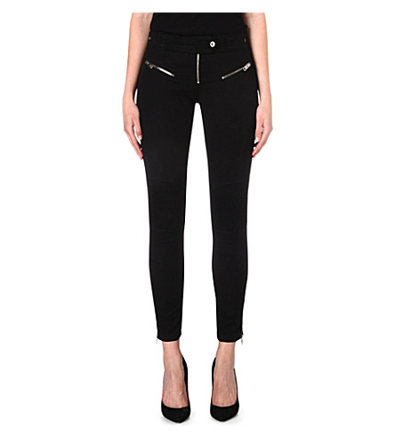 DIESEL Pisculec zip-detailed trousers (Black