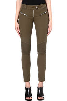 DIESEL Pisculec zip-detailed trousers