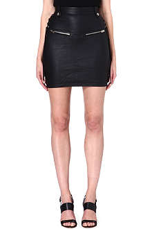 DIESEL Honsu leather skirt