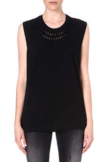 DIESEL Triton cut-out jersey top