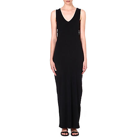 DIESEL Soms cut-out jersey dress (Black
