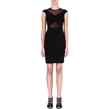 DIESEL Stretch-crepe dress (Black