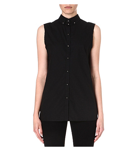 DIESEL Oryel studded shirt (Black