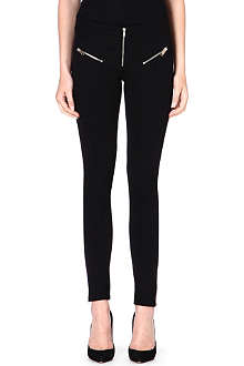 DIESEL Fitted jersey trousers