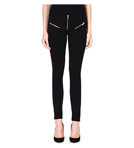 DIESEL Fitted jersey trousers (Black