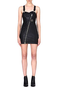 DIESEL Raka leather dress