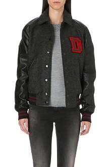 DIESEL L-crew baseball jacket