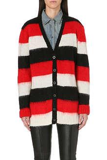 DIESEL Bold stripe cardigan