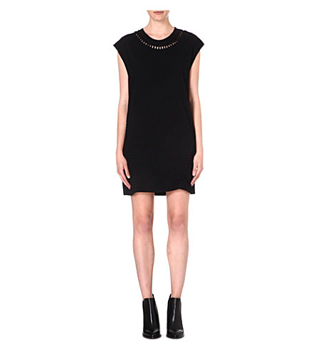 DIESEL Ale jersey dress (Black