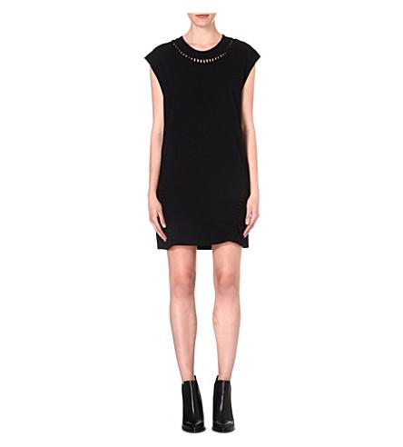 DIESEL Ale jersey dress (Black