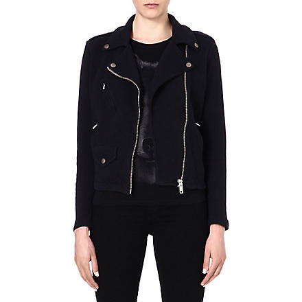 DIESEL Lupus cotton jacket (Black