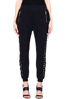 DIESEL Tie-detail jogging bottoms