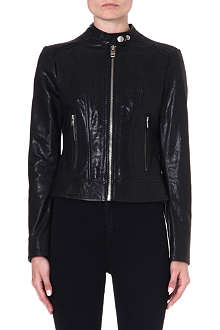 DIESEL L-Spice-A leather jacket