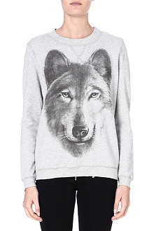 DIESEL Print cotton sweater