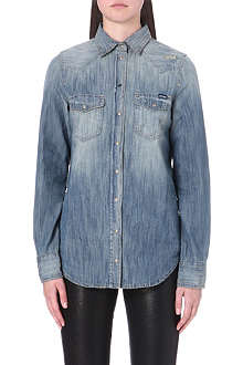 DIESEL Sovy denim shirt